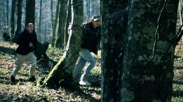 Bjažanje kroz šumu.