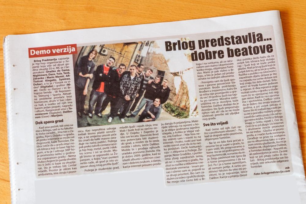 Intervju za Posavsku Hrvatsku (2/2)
